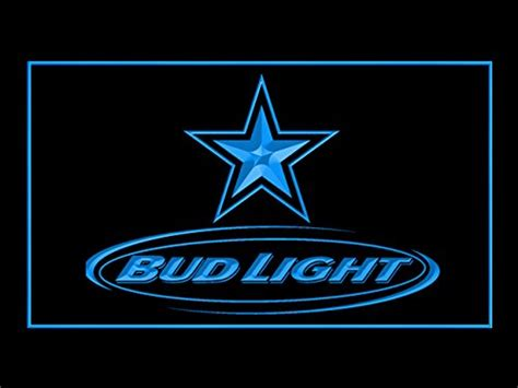 dallas cowboys bud light cowboys neon lights dallas cowboys neon light cowboys