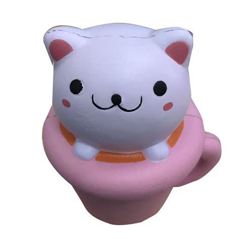 Squishy Jumbo Cupcake squishy cat jumbo rising cupcake soft