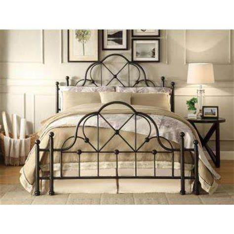 Bed Frame Without Footboard Bed Frame Without Foot Board Headboards Footboards Bedroom Furniture The Home Depot