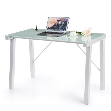 glass laptop desk popular tempered glass desks buy cheap tempered glass