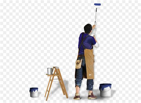 paint rollers house painter  decorator painting wall