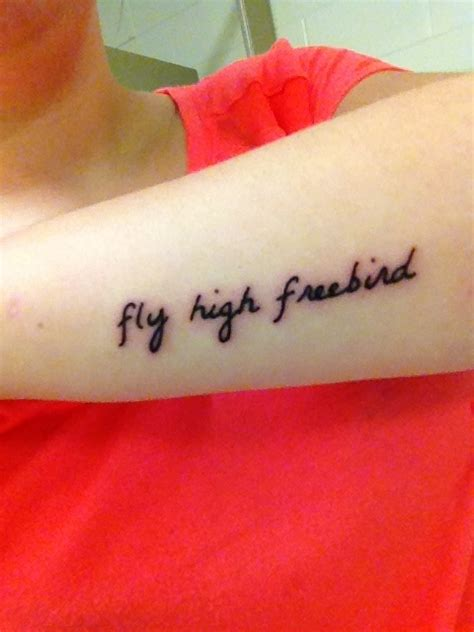 fly high tattoos fly high free bird