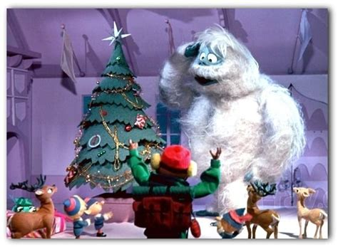 abominable snowman bumble a christmas story pinterest