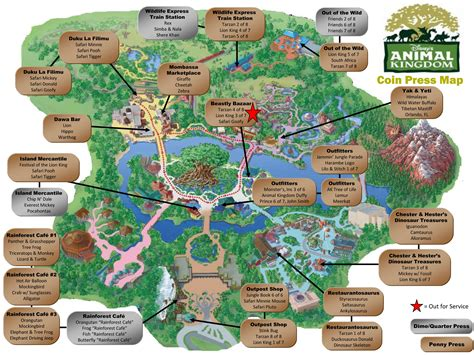 map of animal kingdom map of animal kingdom at disney world pictures to pin on pinsdaddy