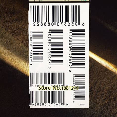 barcode tattoo transfer popular fake barcode buy cheap fake barcode lots from
