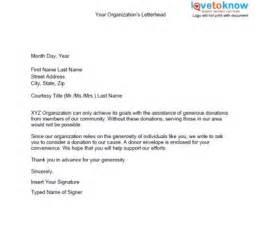 Charity Plea Letter non profit ask letters letter asking non profit
