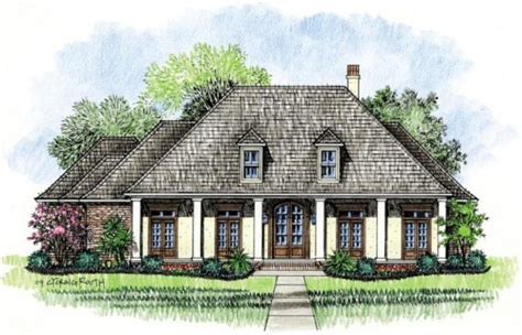653382 simple acadian style house plans floor plans