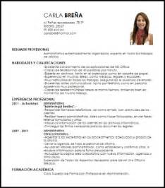 Plantilla De Curriculum Vitae Para Administrativo Modelo Curriculum Vitae Administrativa Livecareer