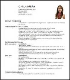 Modelo Curriculum Secretaria Administrativa Modelo Curriculum Vitae Administrativa Livecareer
