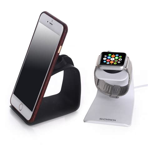 phone charging stand for apple watch charging station metal stand charger