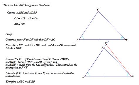 how do you indicate congruent angles in a diagram section 1 2