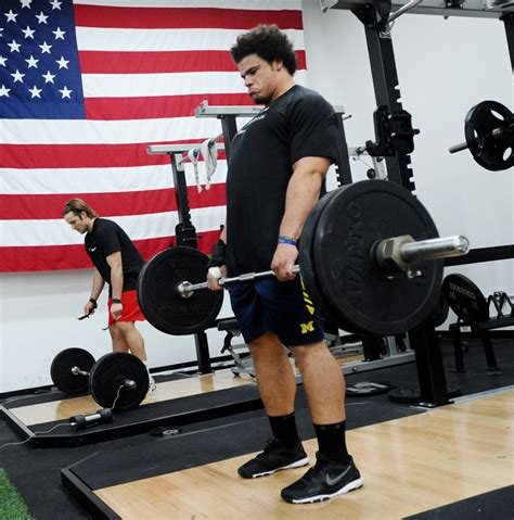 stephen paea bench press record michigan s mike martin staying mum on combine goals