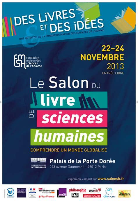 2 affiche et bandeau le salon du livre de sciences humaines
