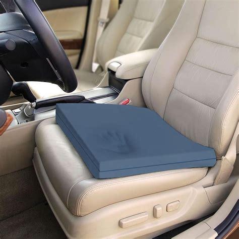 car cusions memory foam car truck seat overlay blue chip premium