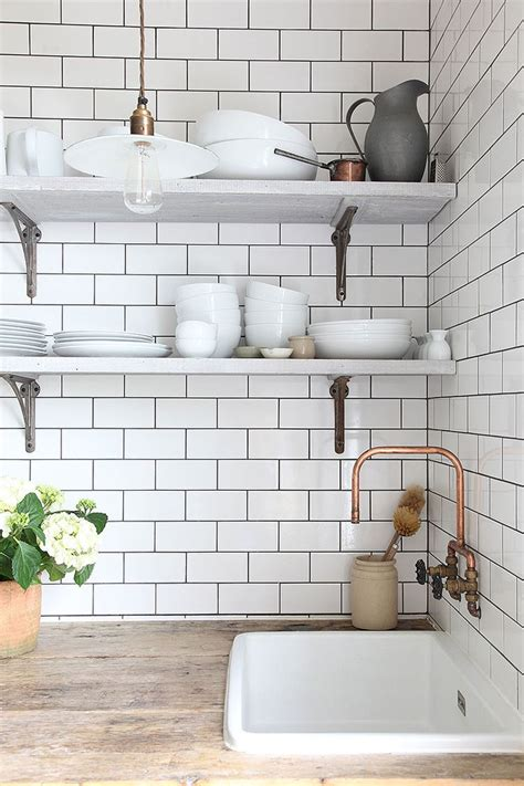Best 25  White tiles ideas on Pinterest   Kitchen tiles