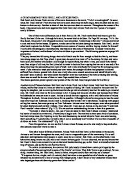 Mayella Ewell Essay by Bob Ewell Character Essay Eassyforex X Fc2