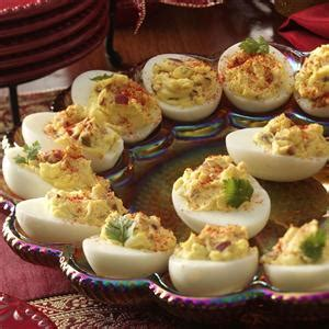 taste of home christmas deviled eggs deviled eggs with bacon recipe taste of home