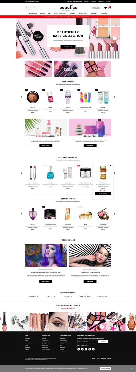 shopify templates responsive beautica responsive health shopify template