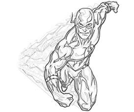 flash superhero coloring pages coloring