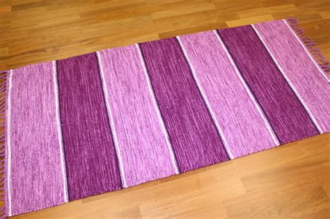 purple rag rug rag rugs from stjerna of sweden purple