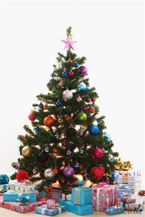 193 rbol de navidad con bolas multicolor fotos de navidad