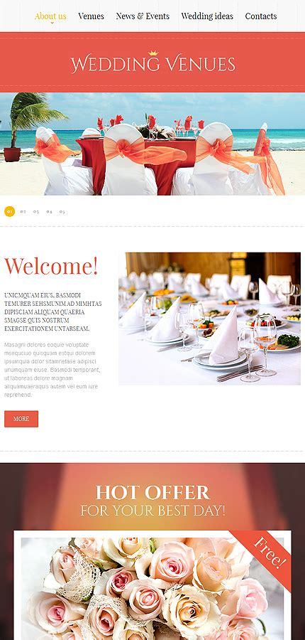 Free Css 2644 Free Website Templates Css Templates And Autos Post Free Wedding Website Templates Html And Css
