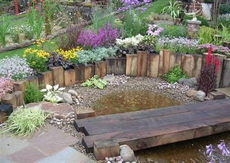 Garden Ideas With Sleepers by Reclaimed Railway Sleepers Shropshire