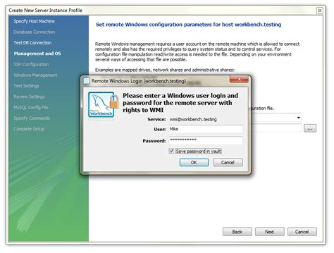 configure xp to use existing mysql mysql workbench manage mysql on windows servers the