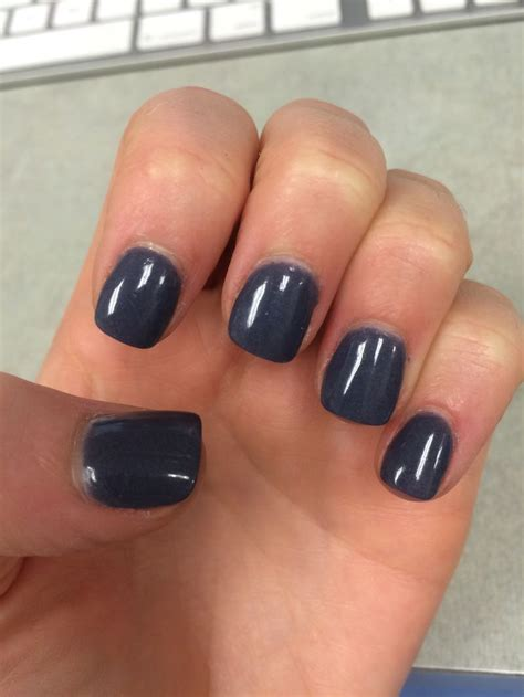 Nail Work by And Blue Purple Gray Nexgen Manicure Nails