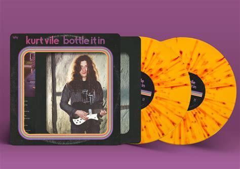 kurt vile bottle it in vinyl kurt vile bottle it in matador records released