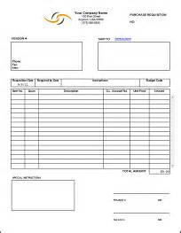 purchase order purchase requisition forms