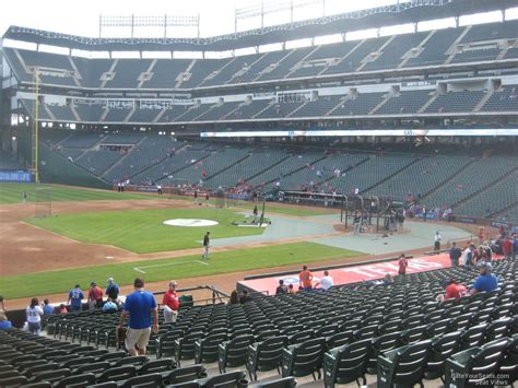 what is section 17 globe life park section 17 rateyourseats com