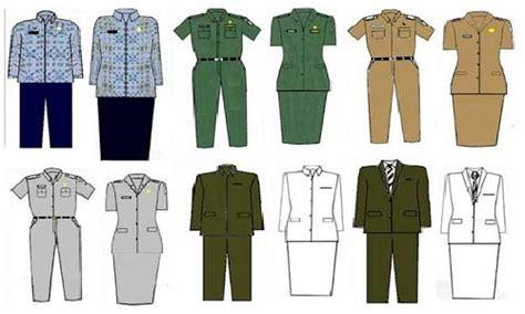Baju Pegawai Negeri Sipil pakaian dinas pns new style for 2016 2017