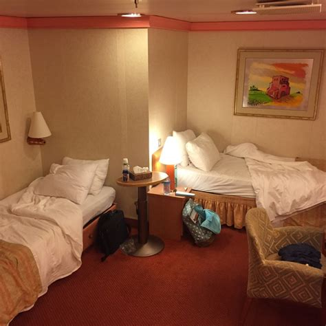 1a Cabin Carnival by Interior Bunk Bed Stateroom Cabin Category 1a Carnival Conquest