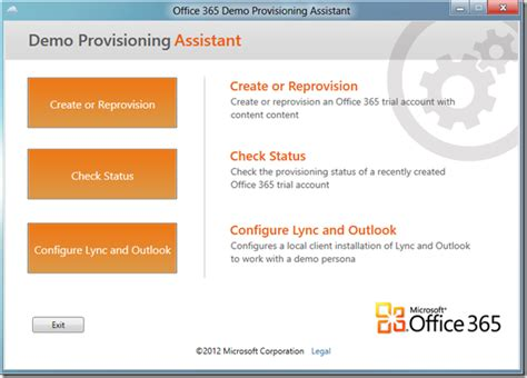 Office 365 Demo Update 2 Office 365 Demo Provisioning Assistant Now