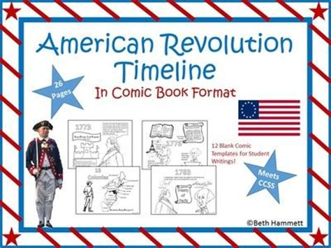 revolutionary war newspaper template best 25 american revolution timeline ideas on