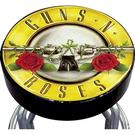 Guns N Roses Bar Stool silver buffalo guns n roses bar stool music123