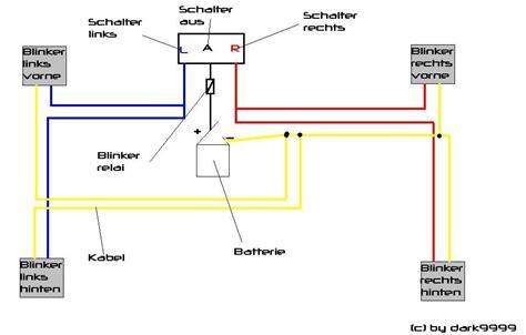 Led Blinker Motorrad Schaltplan by Blinker Forum Mofapower De