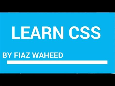css tutorial urdu pdf css line height property lec 31 css tutorial for