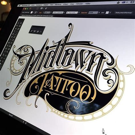 tattoo magazine logo font typography tattoo forever by christian schmetzer