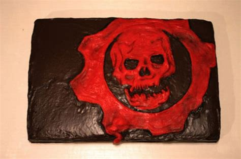 gears of war birthday cake from sweet dreams bakery tennessee video game cakes