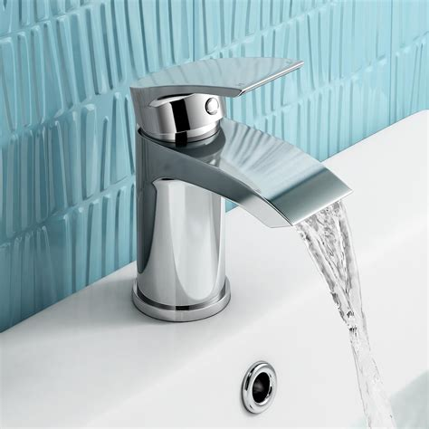 bathroom basin mixer taps uk modern chrome small mono basin mixer tap designer bathroom