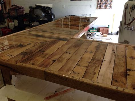 Epoxy Resin For Bar Tops by Epoxy Resin Top Bar Made From Pallets