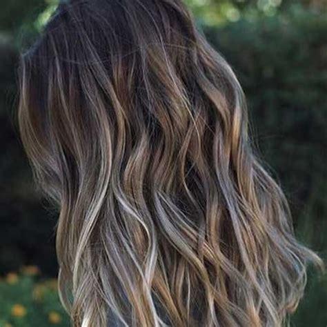 dark ash blonde balayage on dark hair 50 gorgeous balayage hair color styling ideas hair
