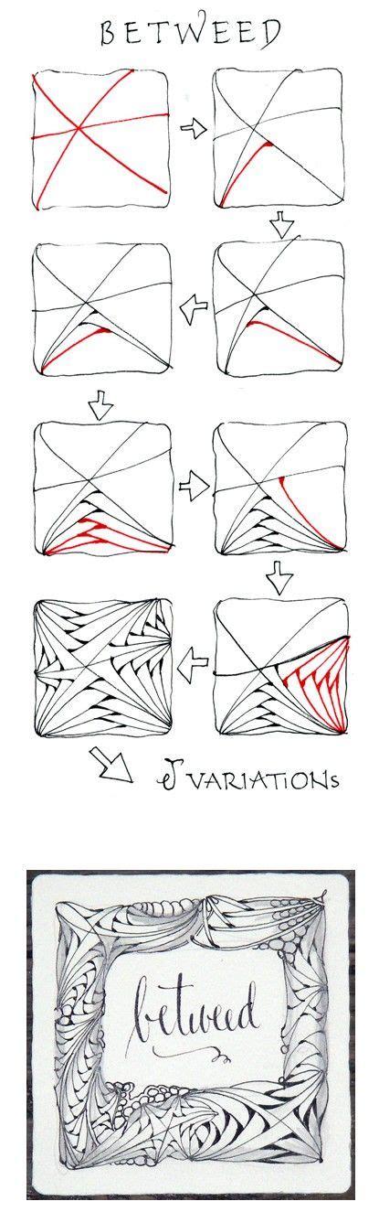 zentangle pattern betweed betweed zentangle zentangle pattern steps how to