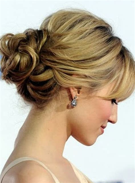 easy updo hairstyles for thin hair bridesmaid hair