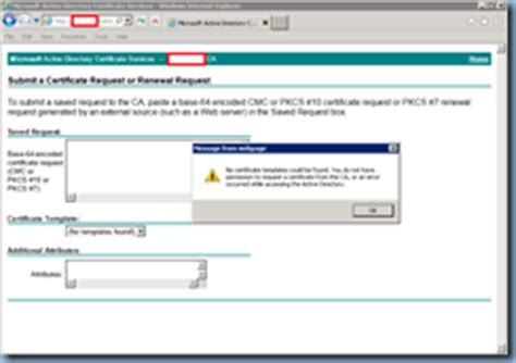 no certificate templates could be found terence luk a new windows server 2008 r2 enterprise root