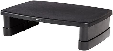 adjustable monitor stand for desk amazonbasics adjustable monitor stand 841710106510 ebay
