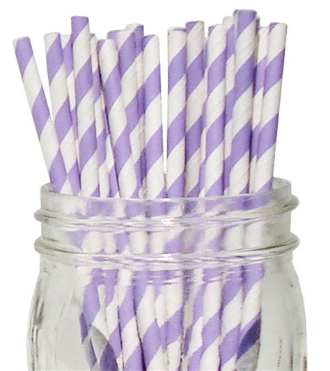 Termurah Balon Dove 100 Pcs Balon Dove 100 Pcs striped paper straws 100pcs lavender
