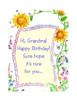printable birthday cards for grandma quot you re loved grandma quot birthday printable card blue